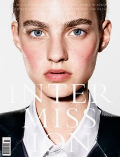 Maartje Verhoef by Richard Burbridge for Intermission Magazine Fall Winter 2015 9