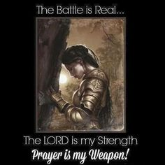 The Battle is Real!  Thanks for this @Jcg068  #Warfare #Jesus #TeamJesus #Prayer