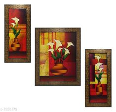 Checkout this latest Paintings_1000-1500 Product Name: *Colorfull Wall Painting (Set Of 3)* Material: Wood & Plastic Size: Frame 1 (L x W) - 6 In x 13 In Frame 2 (L x W) - 10.2 In x 13 In Frame 3 (L x W) - 6 In x 13 In Description: It Has 3 Pieces Of Frames With Paintings (Glass Is Not Included) Work: Printed Country of Origin: India Easy Returns Available In Case Of Any Issue   Catalog Rating: ★4 (197)  Catalog Name: Spiritual Colorfull Wall Paintings Combo Vol 2 CatalogID_202309 C127-SC1611 Code: 703-1556179-645