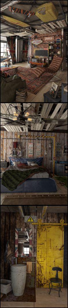 123 оригинальные идеи на фото как оформить интерьер маленькой квартиры в стиле…