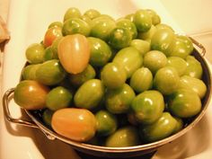 Green Tomato Relish Recipe | sort of used this recipe from allrecipes.com and another one that I ...