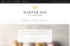 Harper - Wordpress Theme by TinselPop on @creativemarket