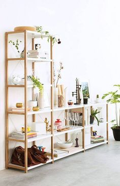 How To Decorate Shelves: 57 Best Shelfies Gold Shelving