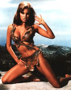 A Slice of Cheesecake: Raquel Welch, cave girl