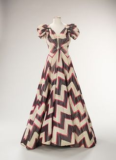 Evening dress. House of Worth  (French, 1858–1956). Designer: Roger Worth (French, born 1908) Date: ca. 1938