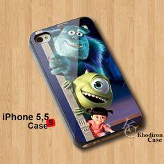 Amazing iPhone 5,5S,5C Case Monster Inc Disney Animation