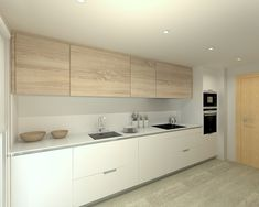 Excellent living kitchen room are available on our website. Modern Grey Kitchen, Grey Kitchen Designs, Kitchen Room Design, Minimal Kitchen, Modern Kitchen Cabinets, Ikea Kitchen, Home Decor Kitchen, Kitchen Furniture, Kitchen Interior