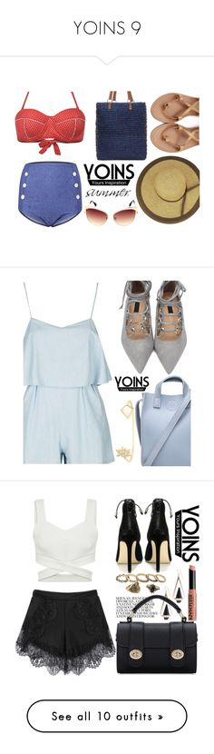 """""""YOINS 9"""" by tamsy13 ❤ liked on Polyvore featuring yoins, yoinscollection, loveyoins, NYX, Terre Mère, Whiteley, Barry M and ban.do"""