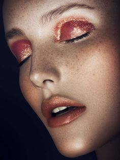 Monochromatic Makeup Portraits - Vanessa Cruz by Yulia Gorbachenko