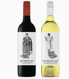 Etiqueta de vino vintage
