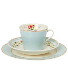 Tea Rose Stripe Trio Set, Cath Kidston.