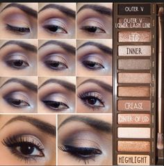 This looks is gorgeous and super easy to do. Anyone who has this pallet should definitely try it.