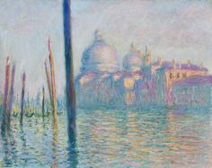 20 obras famosas de Claude Monet: Claude Monet: El Gran Canal, Venecia