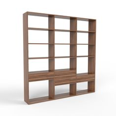 A bookshelf in walnut is a classic piece of furniture and a must-have for the mid-century modern look. Famous Furniture Designers, Bookshelves, Bookcase, Classy Chic, Mid-century Modern, Mid Century, Classic, Home Decor, Derby