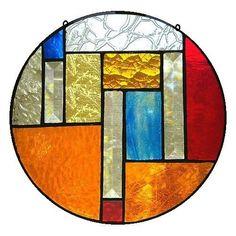 "Stained Glass Mandala ""Symmetry"" | eBay"
