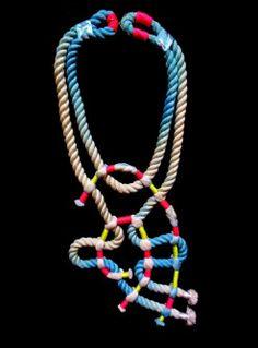 Rope Necklace Inspiration from designer Seth Damm