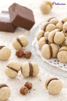Italian Food on the Go No Bake Cookies, Cookies Et Biscuits, Cupcake Cookies, Desserts Nutella, Biscotti Cookies, Sicilian Recipes, Sweet Pastries, Italian Cookies, Chocolate Recipes