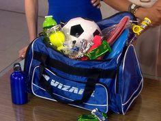 für den Sportbegeisterten: Sporttaschen-osterkorb mit Equipment