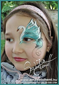 Maquillage d enfants more than 40 of the best designs for tattoos and face painting page 14 of 43 beautiful life Doll Face Paint, Girl Face Painting, Doll Painting, Face Painting Tutorials, Face Painting Designs, Paint Designs, Kids Makeup, Eye Makeup, Skeleton Face Paint