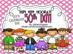 KINDERWORLD: 50th Day Of School!