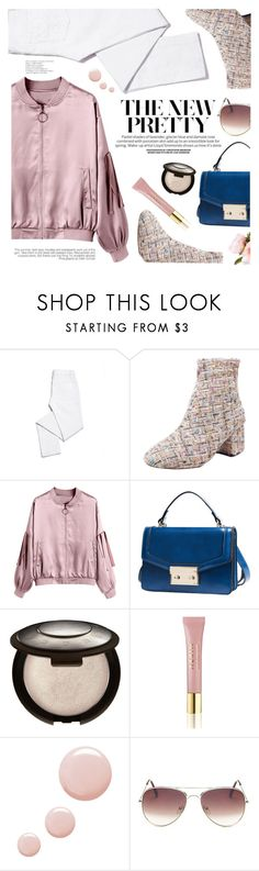 """OOTD"" by yexyka ❤ liked on Polyvore featuring Tory Burch, AERIN and Topshop"