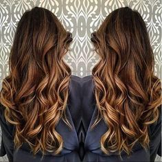71 most popular ideas for blonde ombre hair color - Hairstyles Trends Tiger Eye Hair Color, Eye Color, Hair Trends 2015, Ombré Hair, Caramel Hair, Caramel Balayage, Brunette Hair, Balayage Brunette, Balayage Hair