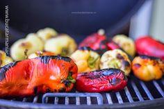 Ghiveci de legume cu orez • Bucatar Maniac • Blog culinar cu retete Grill Pan, Grilling, Ethnic Recipes, Blog, Romanian Recipes, Griddle Pan, Crickets, Blogging