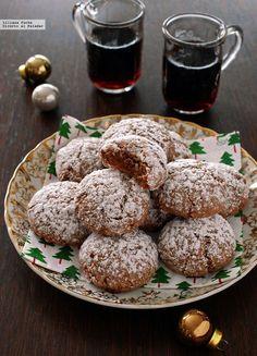 Pan Cookies, Brownie Cookies, Cupcake Cookies, Galletas Amaretti, Bon Appetit Bien Sur, German Cookies, Brie, Café Chocolate, Decadent Cakes