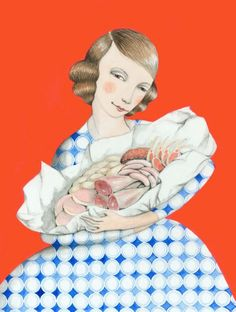 """Mother of Meat"" by Sophie Blackall"