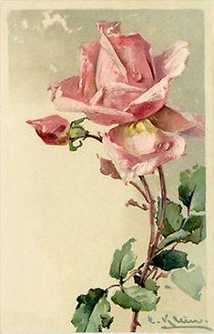 Розовая мечта. Старинные открытки.. Обсуждение на LiveInternet - Российский Сервис Онлайн-Дневников