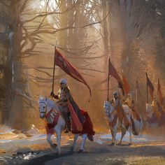 Procession of Knights