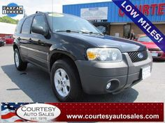 2007 FORD ESCAPE -- ONLY 58,976 MILES! -- LOOKS And DRIVES GREAT! -- SUNROOF! -- Clean CAR-FAX! -- Price INCLUDES A 3 MONTH/3,000 Mile WARRANTY! -- CALL TODAY! * 757-424-6404 * FINANCING AVAILABLE! -- Courtesy Auto Sales SPECIALIZES In Providing You With The BEST PRICE On A USED CAR, TRUCK or SUV! -- Get APPROVED TODAY @ courtesyautosales.com * Proudly Serving Your USED CAR NEEDS In Chesapeake, Virginia Beach, Norfolk, Portsmouth, Suffolk, Hampton Roads, Richmond, And ALL Of Virginia SINCE…