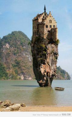Interesting James Bond Island Thailand, Abandoned Castles, Abandoned Houses, Abandoned Places, Abandoned Mansions, Wonderful Places, Beautiful Places, Amazing Places, Lichtenstein Castle