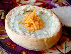 Soft Bread Bowls from Jamie Cooks It Up!