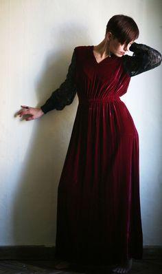 Oh My Crimson Heart by Sarah Alden on Etsy