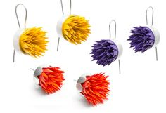 Vicki Mason's Spiky earrings. A selection are now available online...  http://egetal.com.au/store/product/VMM922