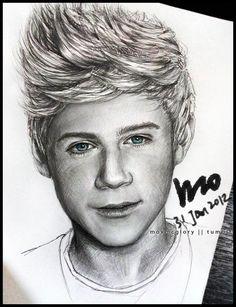 One Direction - Niall by mcglory.deviantart.com on @deviantART
