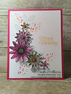 Birthday Club Cards for January! – Just Sponge It!
