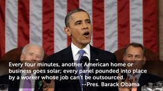 """President Obama SEIA . Details in """"Every Four Minutes, Another American Home or Business Goes Solar!"""" of Sun Is The Future at www.sunisthefuture.net/2014/02/20 (click on the image twice to view the post)"""
