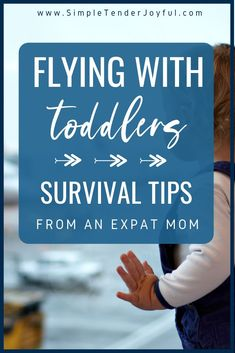 Flying with toddlers can be rough. Check out this list of items to pack in your carry-on as well as awesome advice about which seats to book, how to entertain your child, and how to survive a plane ride with your toddler -- from an veteran expat mom. Toddler Travel, Travel With Kids, Flying With Kids, Plane Ride, Umbrella Stroller, Traveling With Baby, Family Kids, Survival Guide, Travel Tips