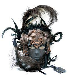 Венецианская маска Barocco Bouquet , 50 000 тг. в магазине карнавальных костюмов Bambolo