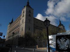 El Alcázar in Toledo, Spain.
