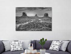 Découvrez «Monument Valley», Édition Numérotée Oeuvres sur Toile par Claude Gariepy - À partir de 45€ - Curioos