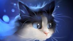 PintaMiMundo: LOVE FOR CATS: APOFISS' ART