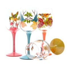 $47.85 Europe and America Evergreen kitchen glass goblet wine glass wine glasses suit 3CWG3285-ZZKKO