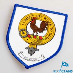 Clan Crest Sew on Pa