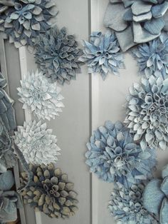 pretty flowers made with denim - 1 of 8 picks for this week's Friday Favorites!