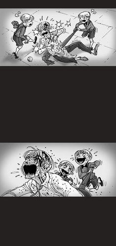Silent Horror :: Servant | Tapastic Comics - image 6