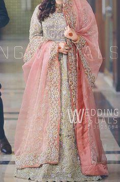 Pakistani Bridal Couture, Pakistani Wedding Outfits, Bridal Outfits, Bridal Lehenga, Bridal Dresses, Asian Wedding Dress, Dream Wedding Dresses, Suit Fashion, Girl Fashion