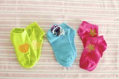 ~Ruffles And Stuff~: Introducing: PaigeCrafts!  Decorative socks
